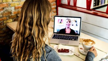 Skype met Joyce