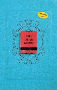 Burn after writing - boekentip
